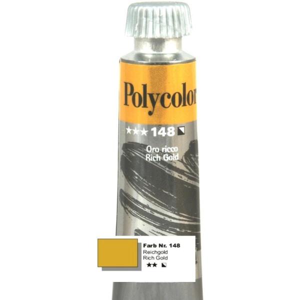 Nr.148 Polycolor Acryl-Malfarbe reichgold, 2,90 € - Nailsecrets